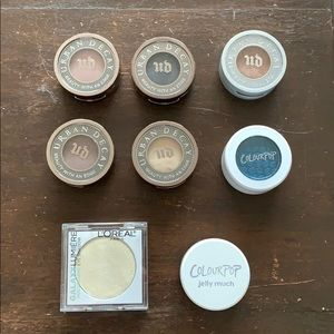 Eyeshadow bundle - Urban Decay, ColourPop